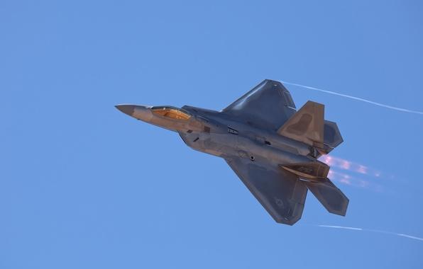 Picture the sky, F-22, Raptor, Raptor, f-22