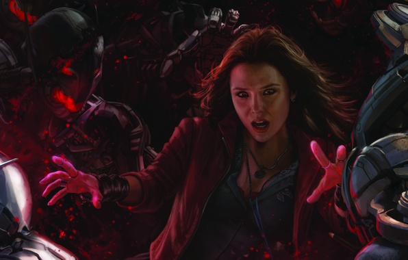 Picture Marvel, The Avengers, Avengers, Marvel, Scarlet Witch, Scarlet Witch, 2015, Elizabeth Olsen, Elizabeth Olsen, Age, …