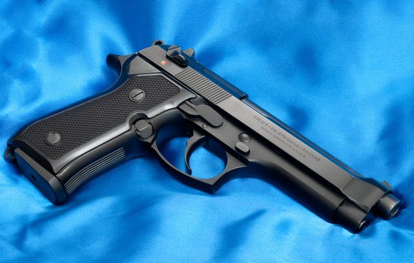 Picture Blue, Gun, Italy, Wallpaper, Trunk, Background, Weapons, USA, USA, Gun, Italy, Wallpapers, Beretta 92F, Weapons, …