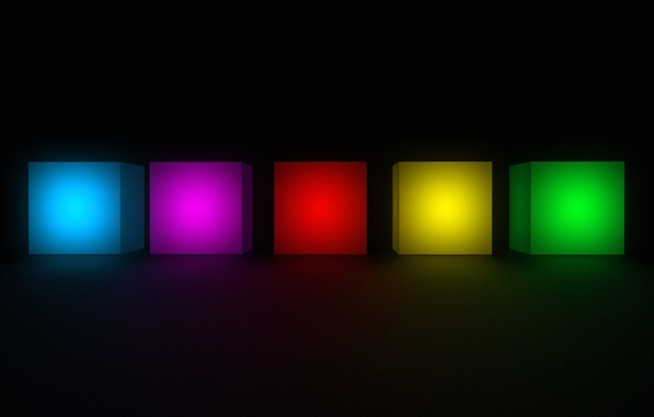 Picture background, color, cube, cube, geometry, face