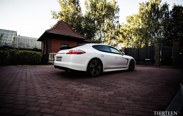 Picture machine, auto, Porsche, Porsche, Panamera, drives, auto, Panamera