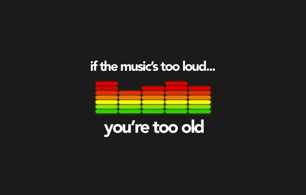 Picture music, music, equalizer, loud, old