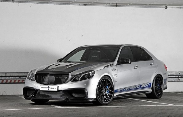 Photo wallpaper Posaidon, Mercedes-Benz, E-Class, Mercedes, AMG, W212
