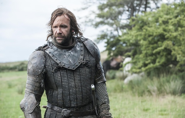 Picture nature, armor, warrior, dog, Game of Thrones, Game of thrones, The Hound, Sandor Clegane