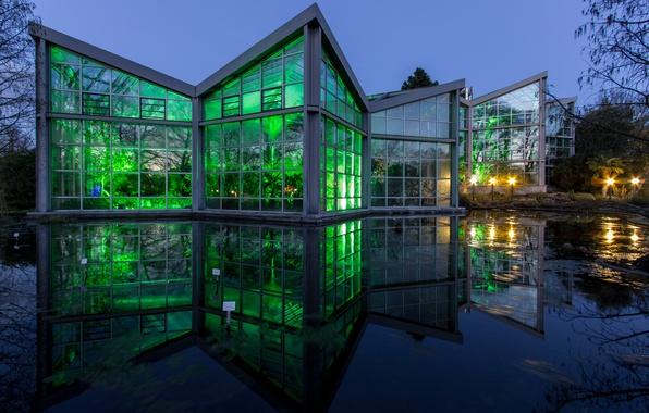 Picture Germany, Botanical garden, Frankfurt am main, The Palmengarten