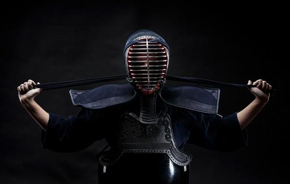 Picture sport, form, kendo