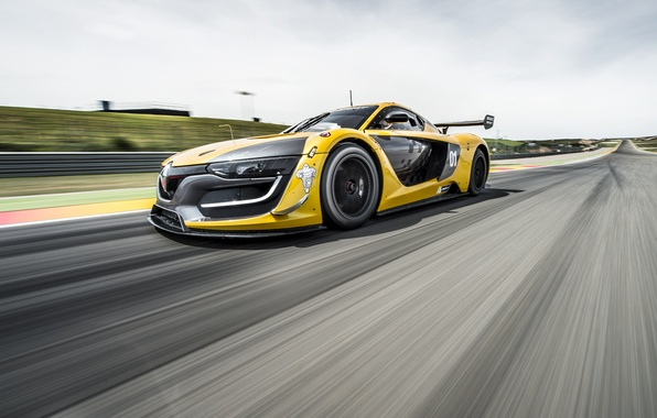 Picture Renault, supercar, Reno, Sport, 2014, RS 01