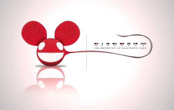 Picture Music, White, Eyes, Background, Tail, Deadmau5, Deadmaus
