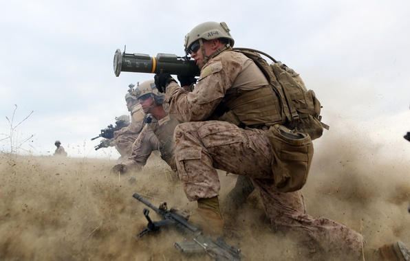 Picture weapons, soldiers, United States Marine Corps