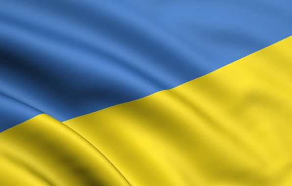 Picture Yellow, Blue, Flag, Ukraine