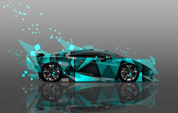 Picture Color, Lamborghini, Wallpaper, Fragments, Car, Art, Abstract, Photoshop, Photoshop, Abstract, Design, Style, Wallpapers, Side, Lamborghini, …
