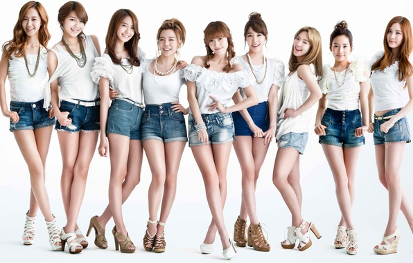 Picture music, girls, Asian girls, SNSD, Girls Generation, South Korea, Kpop