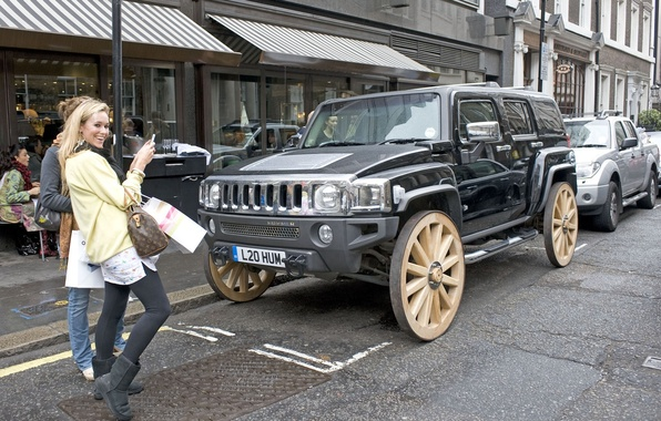 Picture Hummer, Ultimate, Wagon Wheel