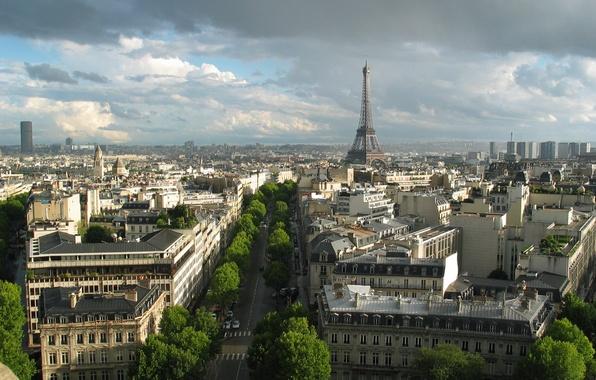 Picture France, Paris, building, tower