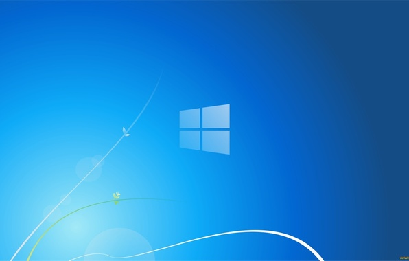 Picture blue, background, Microsoft, Windows 8