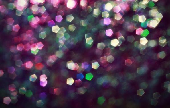 Picture glow, lights, bokeh