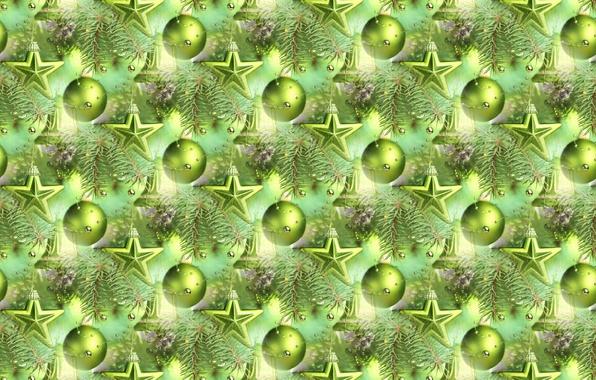 Picture balls, background, holiday, balls, texture, stars, New year, herringbone