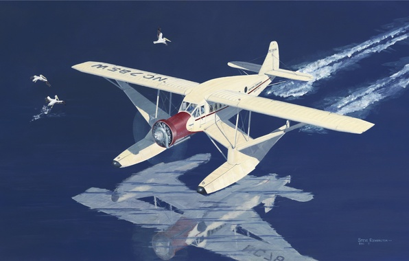 Picture the plane, New York, art, airplane, Airbus, used, USA., air, 1934., suburban, lines, P-200A
