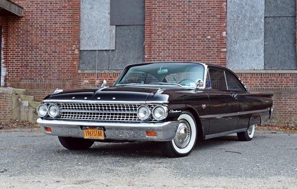 Picture Ford, Galaxie, Ford, 1961, Starliner