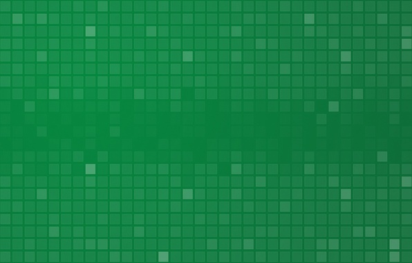 Picture abstraction, green, green, patterns, paint, colors, squares, patterns, abstraction, squares, 2000x1080