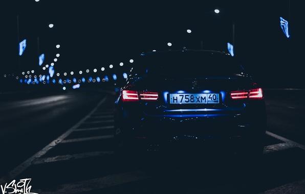 Picture machine, auto, night, BMW, photographer, auto, photography, photographer, Vladimir Smith, Vladimir Smith, Kaluga, Kaluga, dimensions