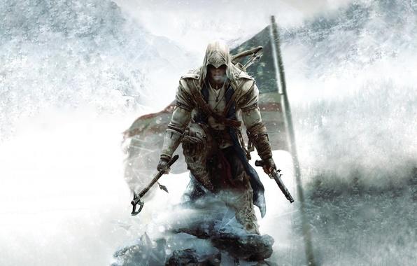 Picture killer, ubisoft, assassin, assassins creed, Desmond, yubisoft, Assassin's Creed III, Radunhageydu, ac3, Connor, assassin's creed