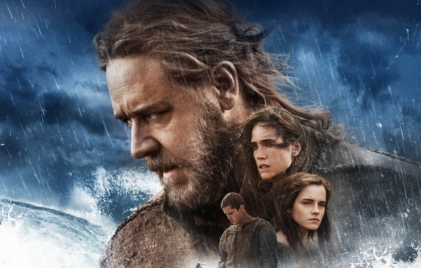Picture Action, Fantasy, Emma Watson, Clouds, Lightning, Girls, Wallpaper, Russell Crowe, Sea, Weapons, Male, Face, Man, …