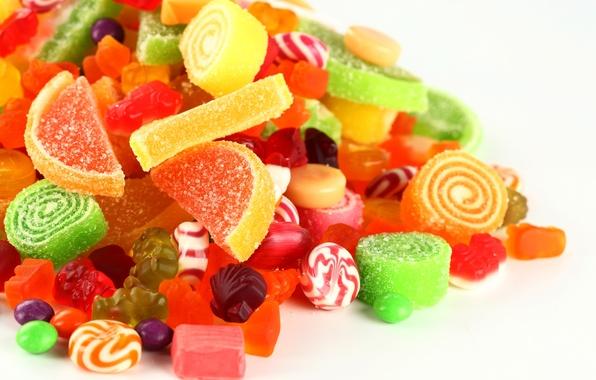 Picture candy, lollipops, sugar, sweet, marmalade, gelatin