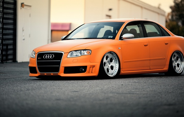 Picture car, Audi, tuning, tuning, rechange, stance, audi rs4