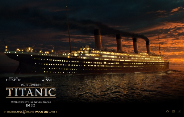 Picture Night, Ship, Titanic, Titanic