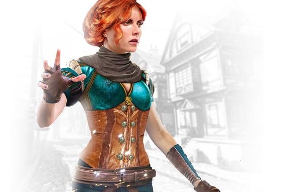 Picture the enchantress, Triss Merigold, Triss Merigold, Witcher 3: Wild Hunt