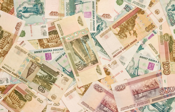 Picture Macro, Bills, Money, Currency, Rubles