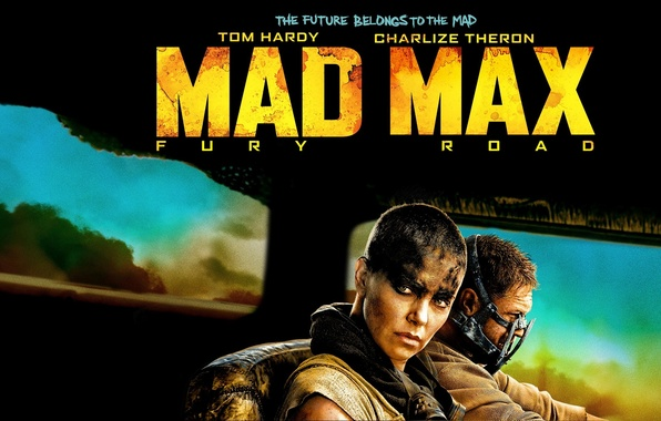 Picture Charlize Theron, Charlize Theron, Tom Hardy, Tom Hardy, Mad Max: Fury Road, Mad Max: fury …
