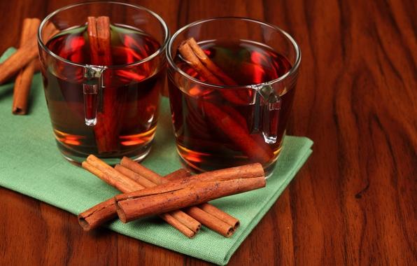Picture tea, Cup, cinnamon