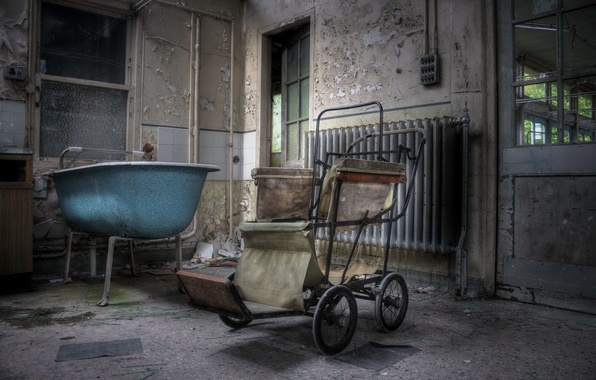 Picture bath, stroller, chamber