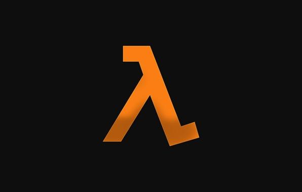 Picture logo, Half-Life, orange