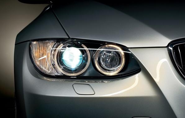 Picture machine, lights, bmw, BMW