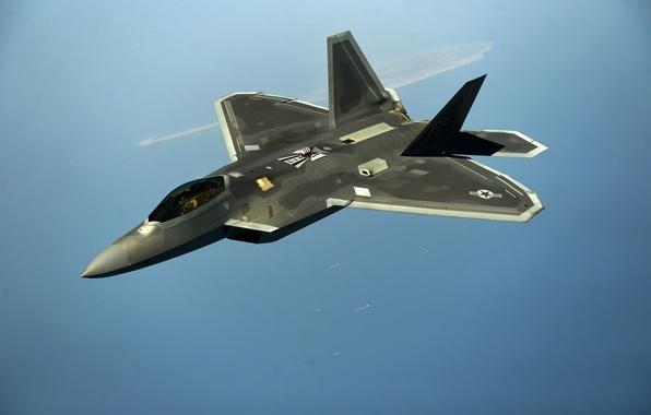 Picture fighter, unobtrusive, multipurpose, F-22 Raptor