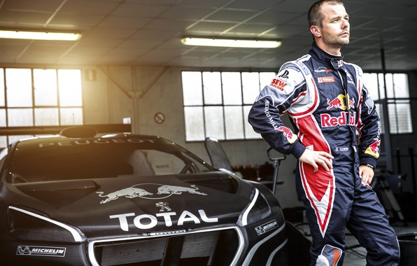 Picture background, Wallpaper, legend, racer, Peugeot, champion, Sebastien Loeb, Sebastien Loeb, Pikes Peak, Peugeot 208 T16, …