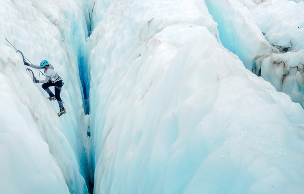 Picture sport, mountain, ice
