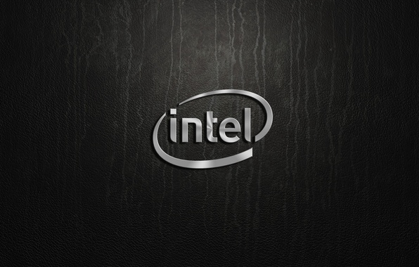 Picture silver, logo, intel