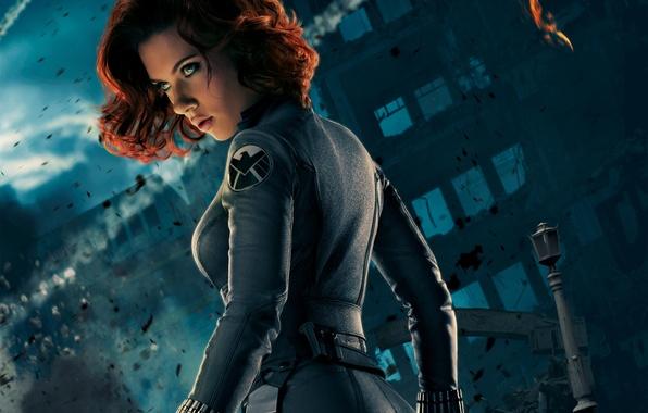 Picture girl, actress, Scarlett Johansson, the Avengers, Scarlett johansson
