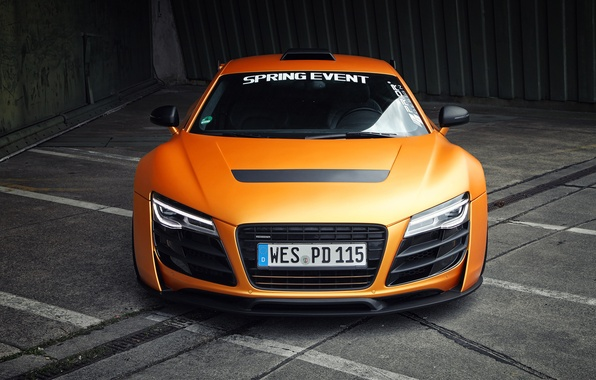 Picture Audi, Audi, lights, the hood, the front, GT850, Prior-Design