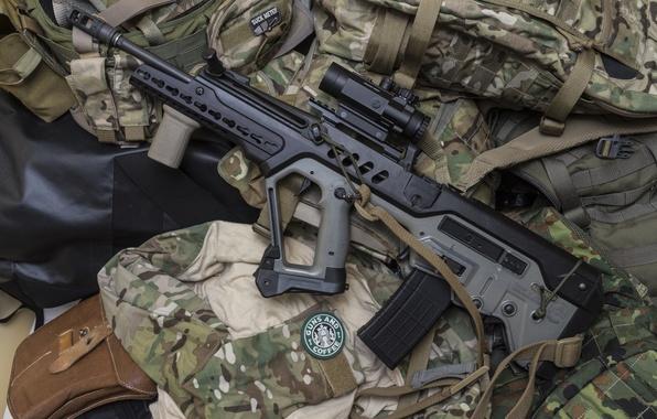 Photo wallpaper weapons, machine, rifle, assault, Tavor, TAR-21