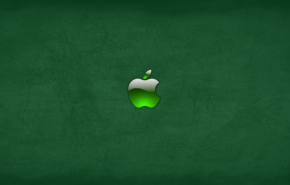 Picture green, apple, Apple, mac