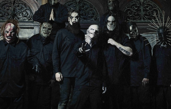 Picture Slipknot, Nu metal, Groove, Corey Taylor, Sid Wilson, Chris Fehn, Craig Jones, Shawn Crahan, Jay …