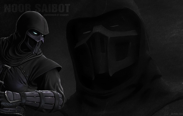 Picture Mortal Kombat, fighting, Noob Saibot