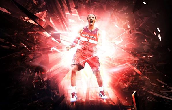 Picture Sport, Basketball, Creek, Washington, NBA, Wizards, Player, John Wall, John Wall