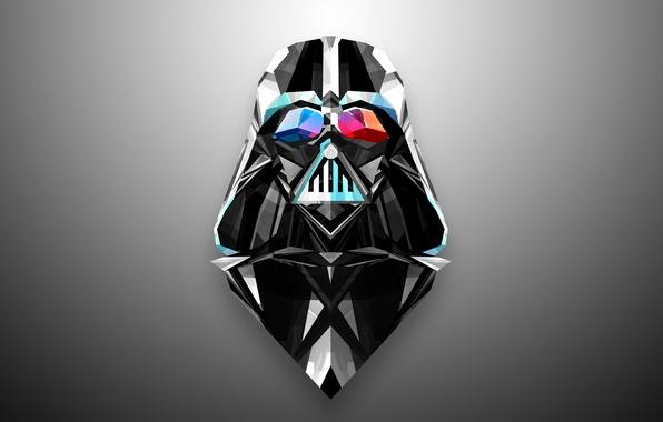 Picture abstraction, minimalism, star wars, Darth Vader, Darth Vader