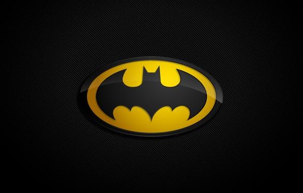 Picture background, logo, Batman